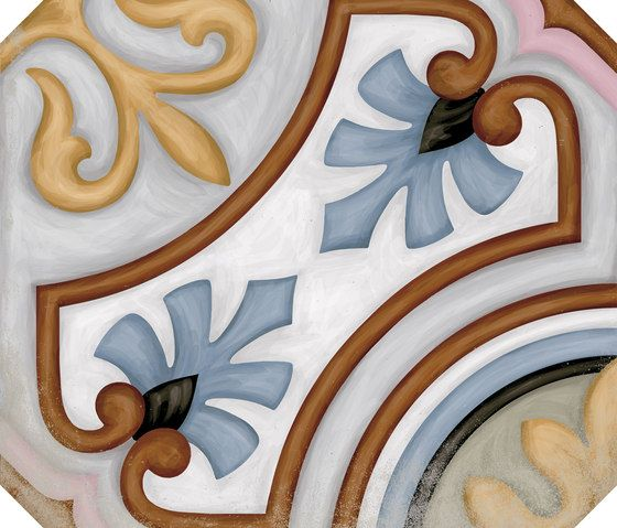 Ceramic Flooring Vodevil Octogono Variette Sombra