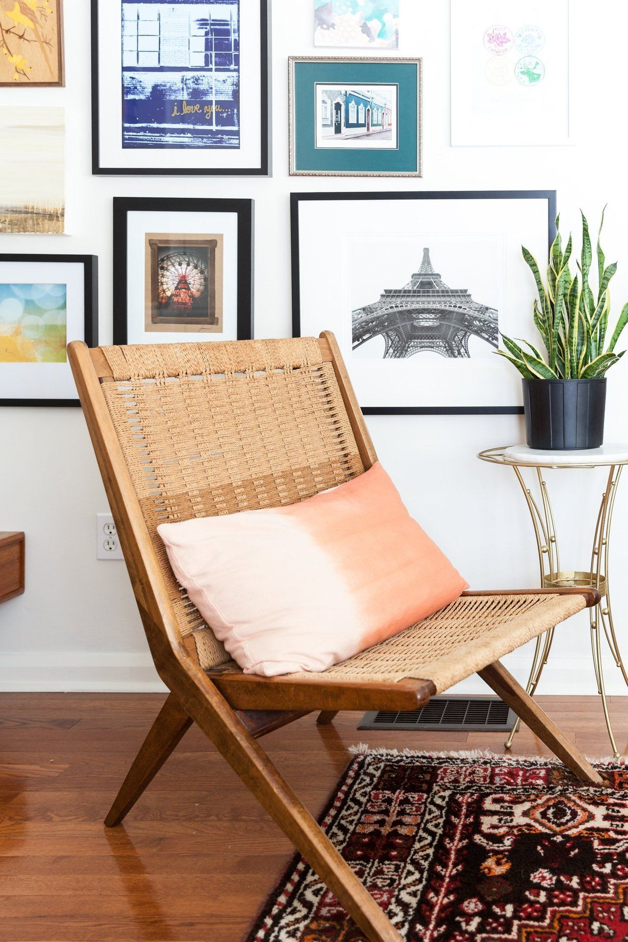 Holly & Ryan's Modern Vintage Mix Chairs for small