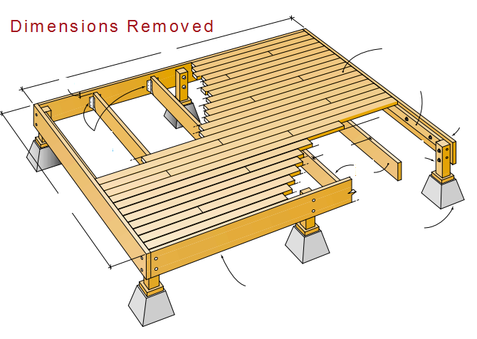 Are joe 39 s deck plans any good learn about it here with for How to build a platform deck for above ground pool