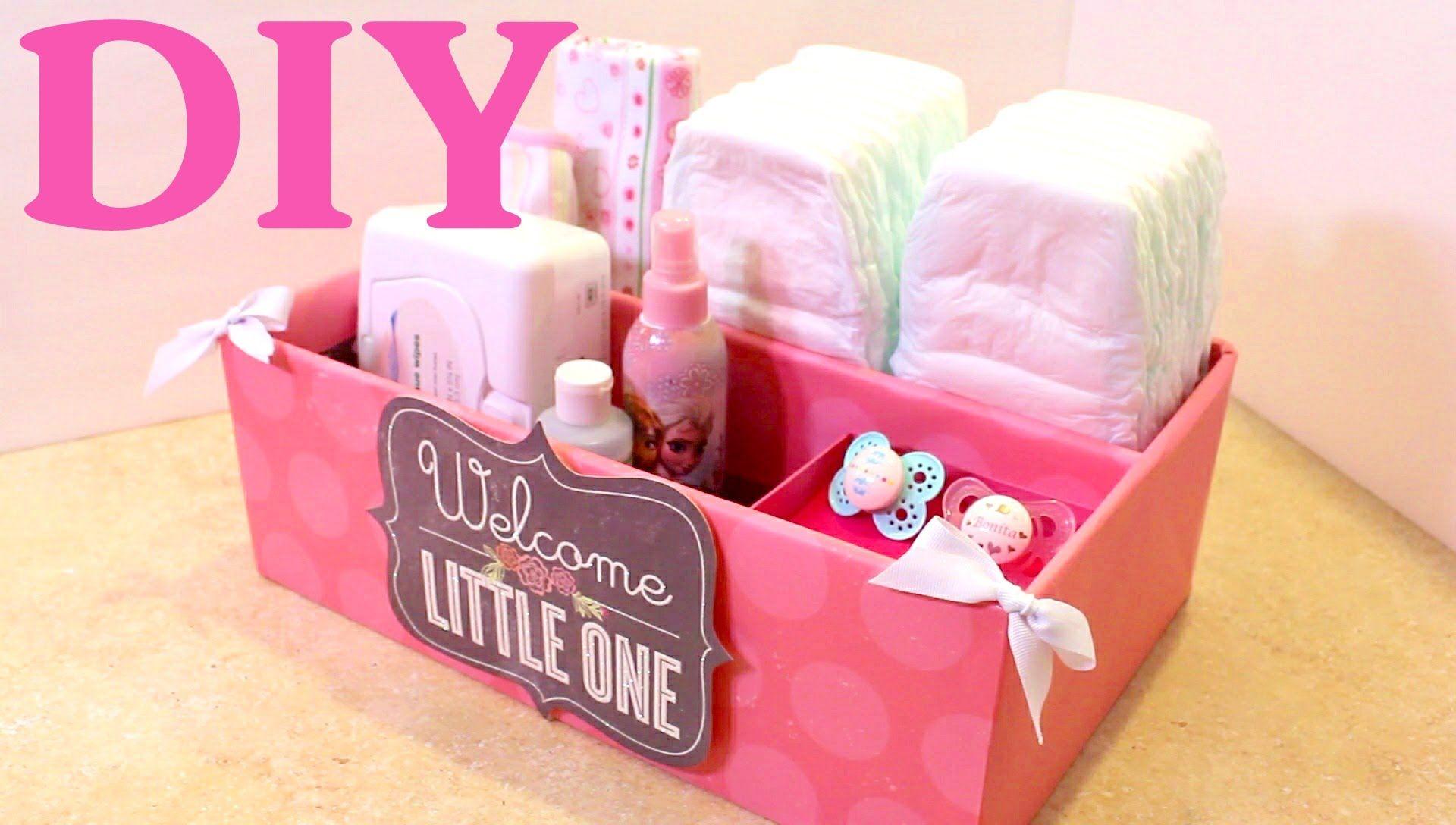 Caja Organizadora Para Bebes Baby Organizer Reciclando Bolsas De Papel Organizador Para Bebes Baby Diy Cajas Organizadoras De Carton