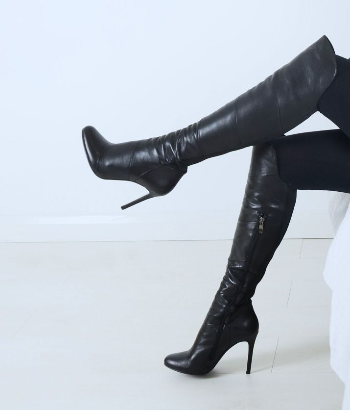 Long thigh high boots Shoes for Women
