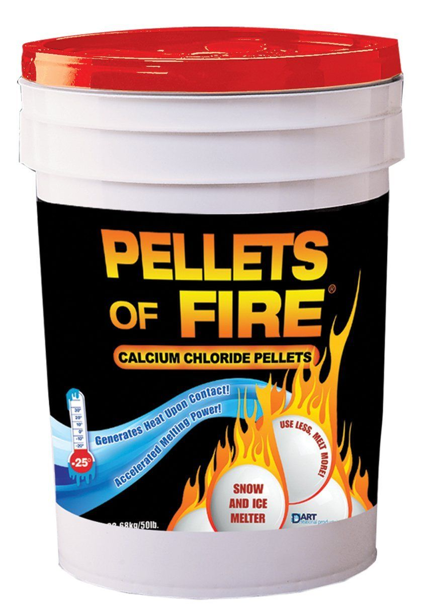 Amazon Com Pellets Of Fire Cpp50 Snow Ice Melter Calcium