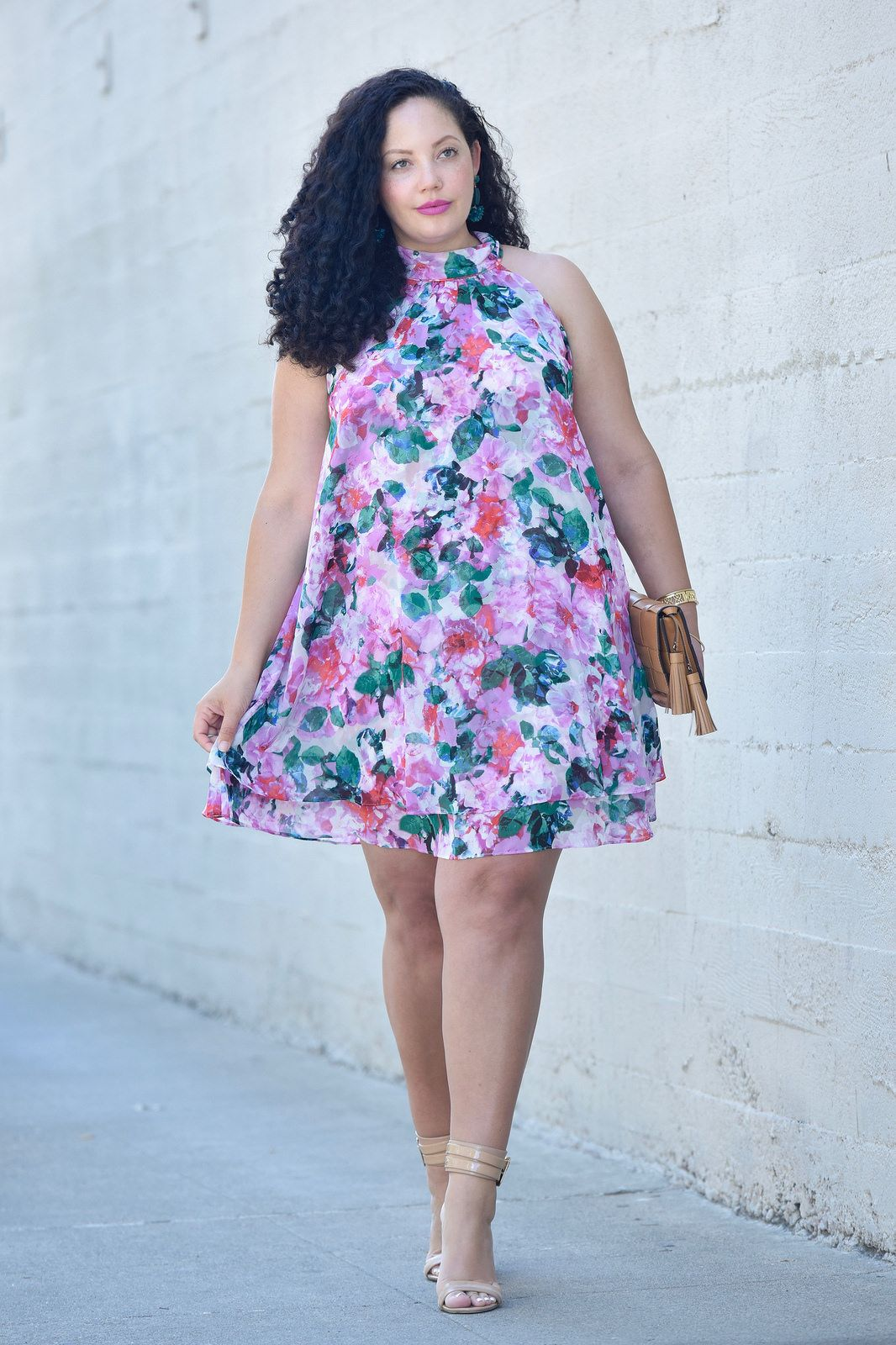 The Dress Everyone Looks Amazing In via @GirlWithCurves | clothes ...