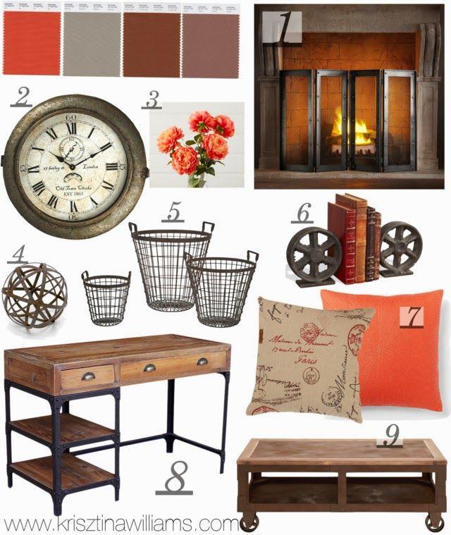 Industrial Home Interior Design: Decor Inspo: Rustic + Industrial