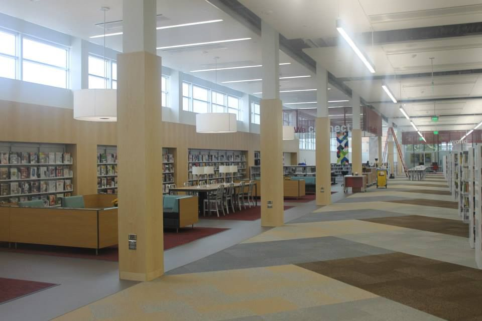 The Second Floor Of The Newly Renovated Ames Public Library Photo By Melissa Erickson Ames Tribune Renovations Library Home