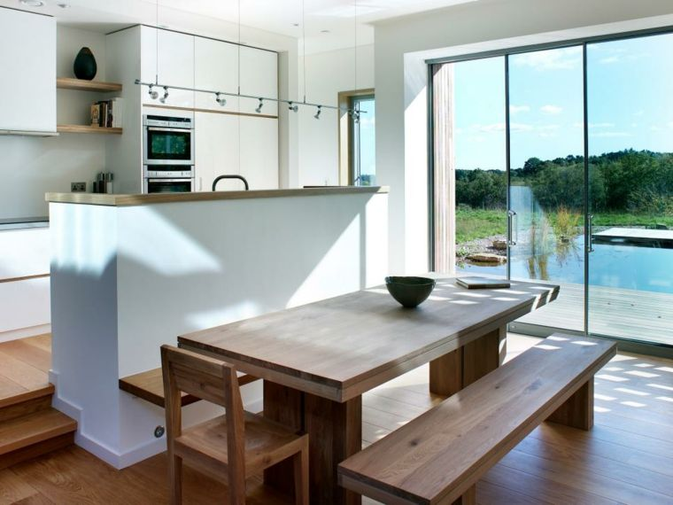 Cuisine américaine  un espace adapté au mode de vie moderne - amenager une cuisine ouverte
