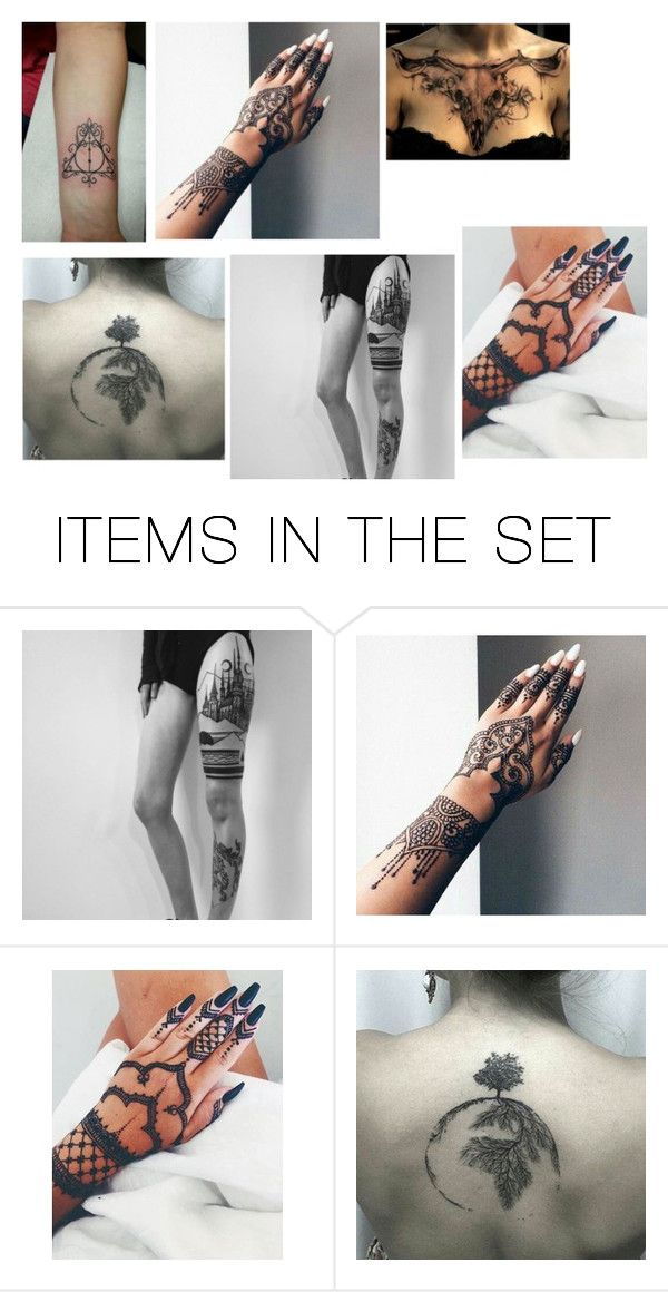 """""""Tattoo Inspiration"""" by haileyhowsonx3 ❤ liked on Polyvore featuring art"""