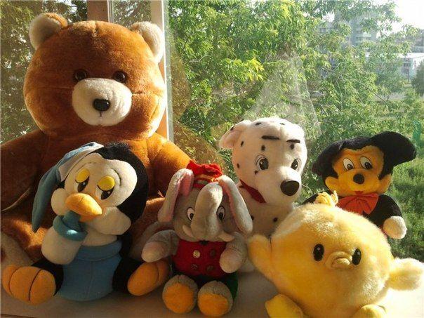 7. Мягкие игрушки