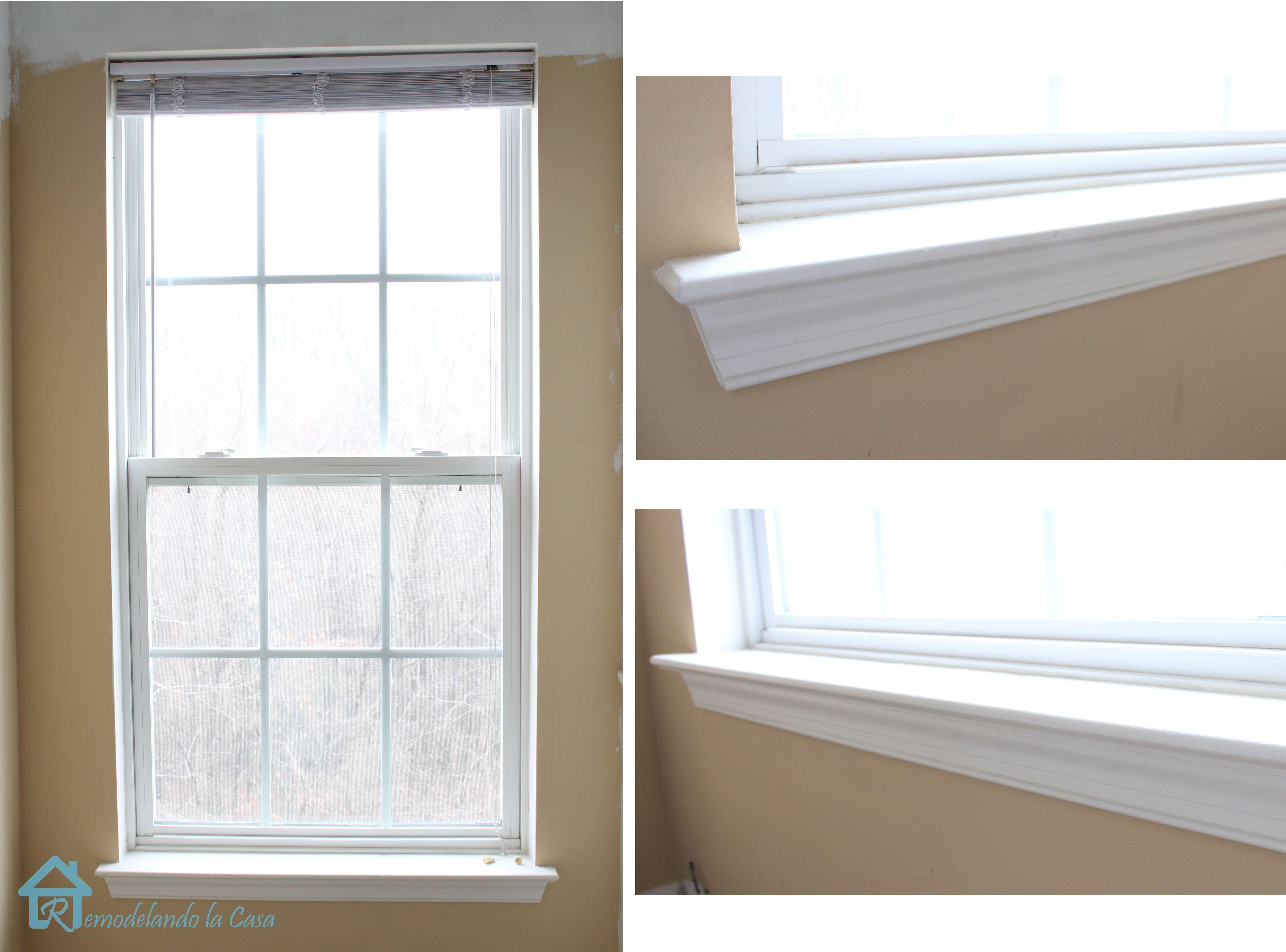 How To Install Window Trim Interior