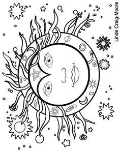 Midsummer Sun Coloring Page The Craft Of The Wise Coloring Pages