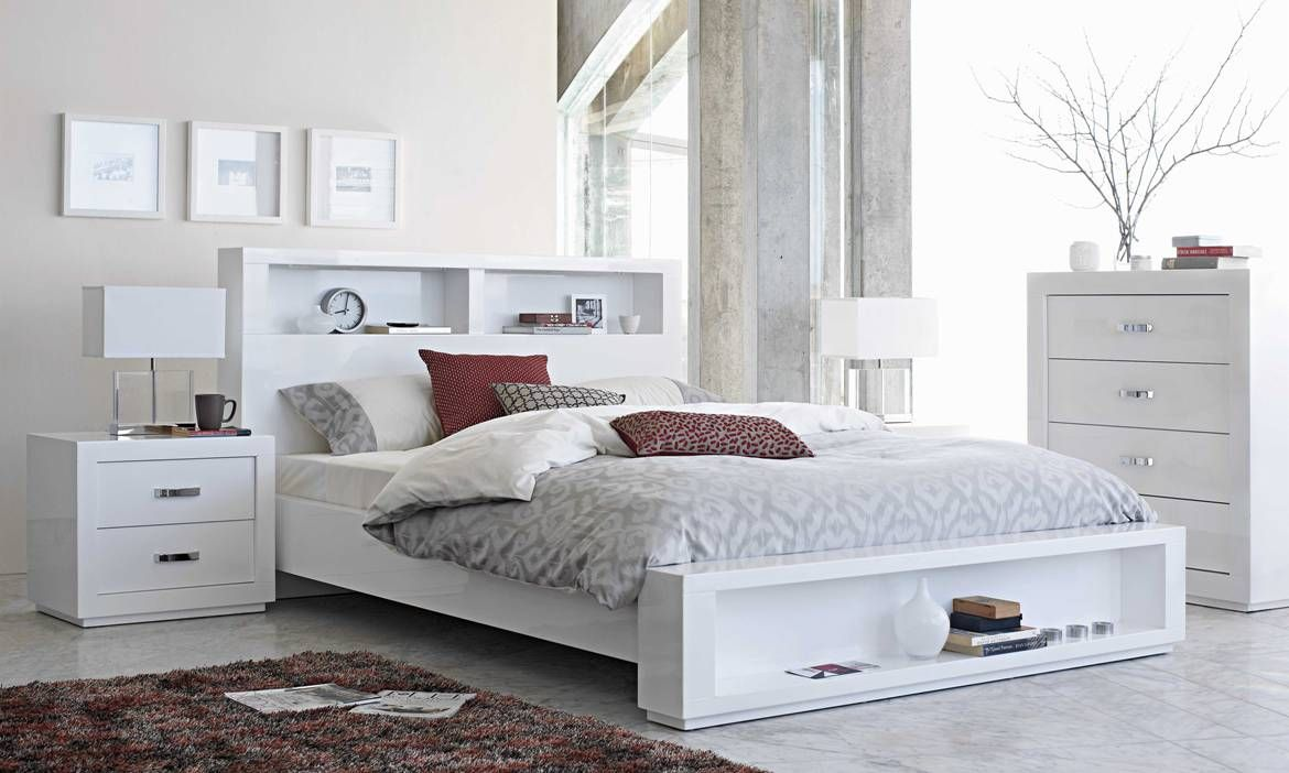 White Bedroom Furniture Nz hmm can't squeeze much under this bed - summit bedroom furniture
