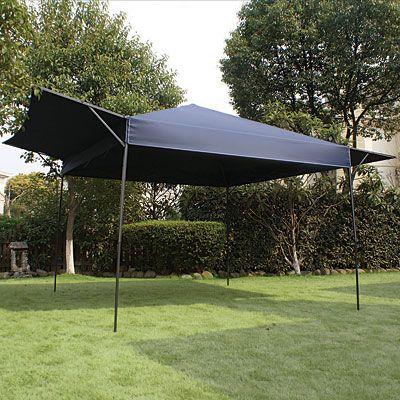 10 X 16 Pop Up Sun Shelter With Fold Up Sides Pop Up Canopy
