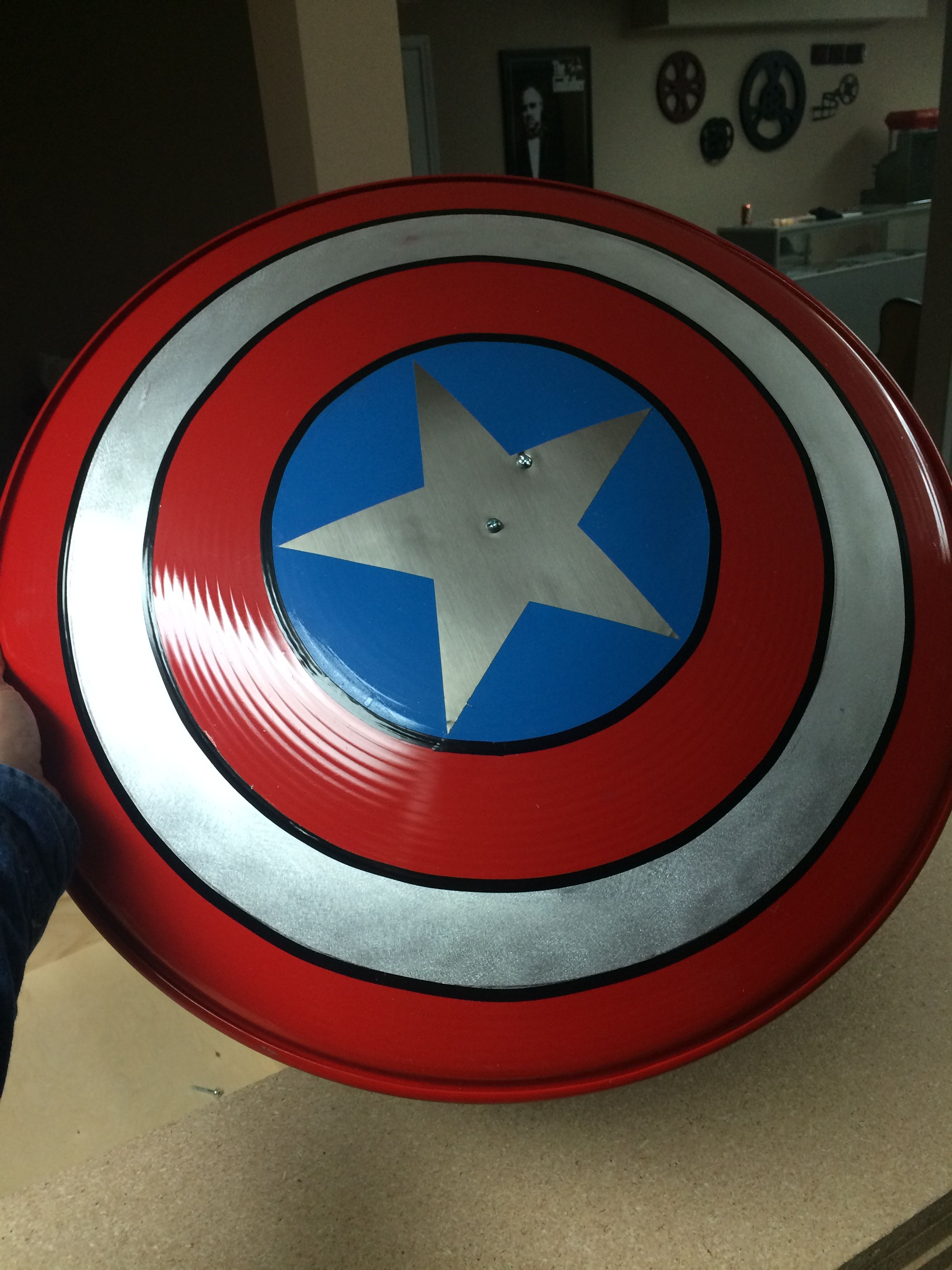 Captain America Shield Wood Working Shit That Ive Made Captain