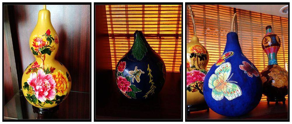 Aliexpress.com: Comprar Calabaza Natural obras de calabaza hecho a mano obras de arte mano lámparas talladas de 150w de la lámpara fiable proveedores en Myonly natural gourd artworks