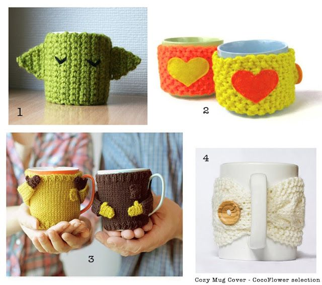 DIY Cozy Mug Cover ou le couvre tasse confortable au crochet by CocoFlower - www.cocoflower.net