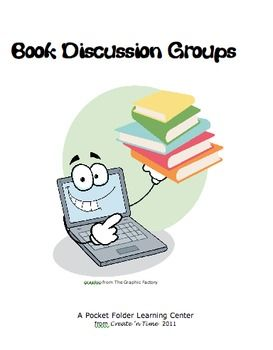 Book Discussion Task Cards for Small Group Discussion of ANY Novel #911craftsfortoddlers