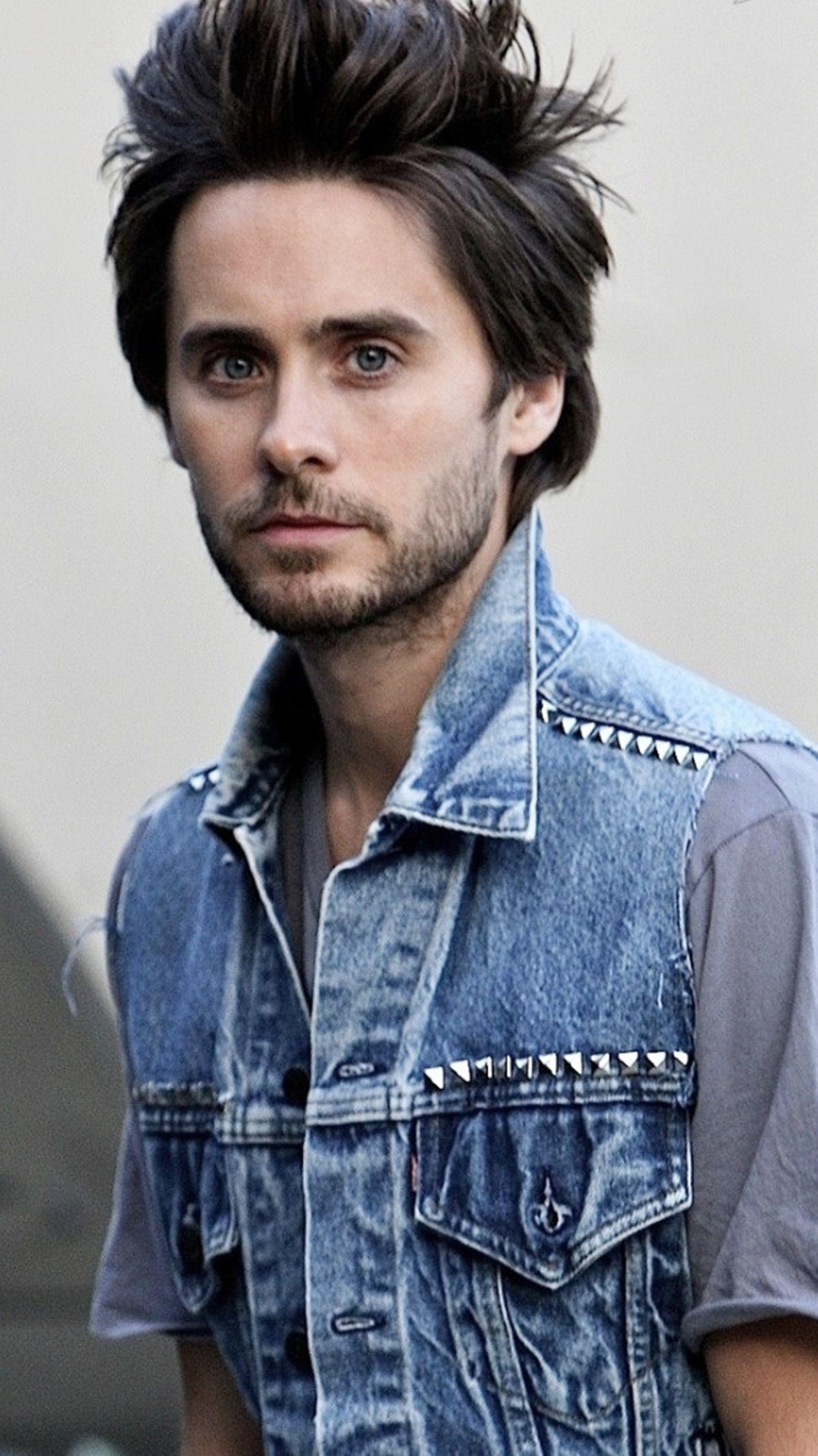 Jared Leto- really liked his hair like this
