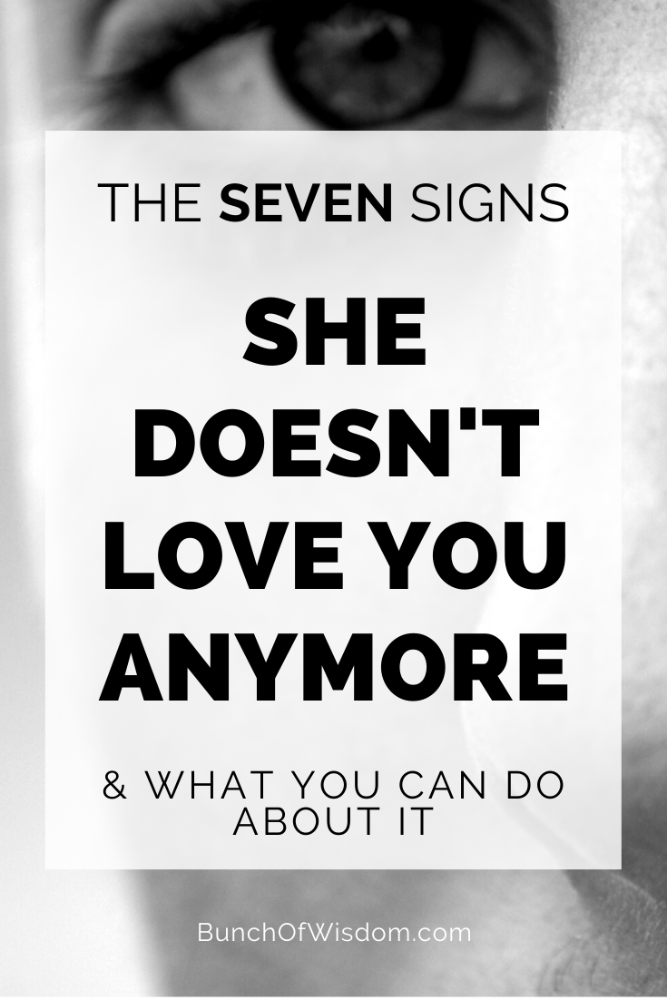 Like signs t you doesn anymore she Signs She
