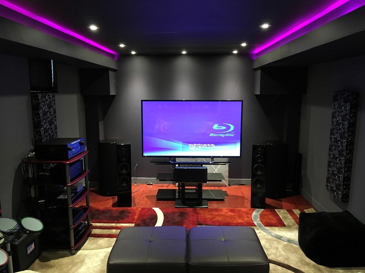 Featured home theater system ray in toronto ontario - Home theater sound system design ...