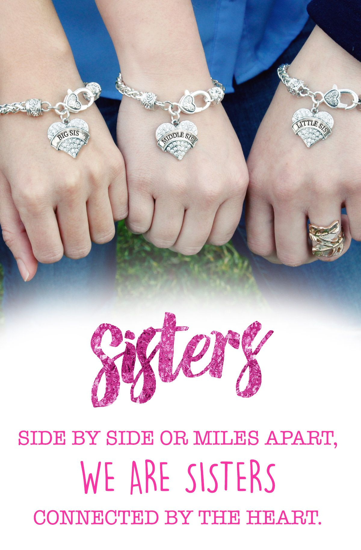 Do you love you sisters Sisters share an unspoken bond throughout