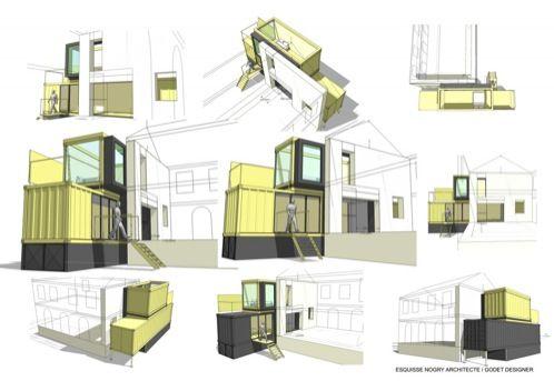 Vivendas modulares: el ejemplo de una vivienda en contenedores ...