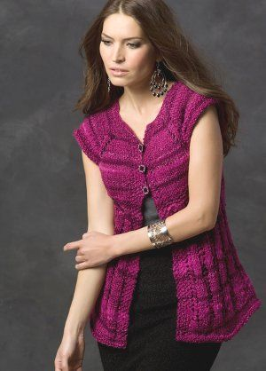 Midnight Rose Short Sleeve Cardi | AllFreeKnitting.com | crochet ...
