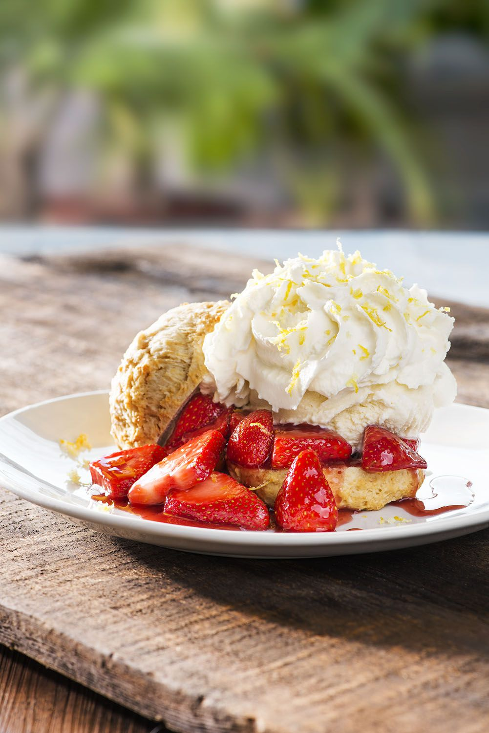 Strawberry Shortcake At Our @California Pizza Kitchen Restaurants    Made  With A Fresh And Tender Shortcake Biscuit And Piled High With Seasonal ...