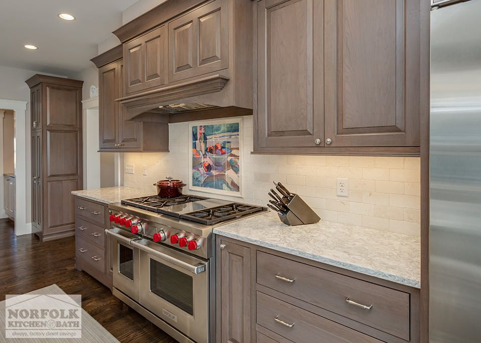 Sophisticated Two-Tone Kitchen in Scituate | Kitchen remodel ...
