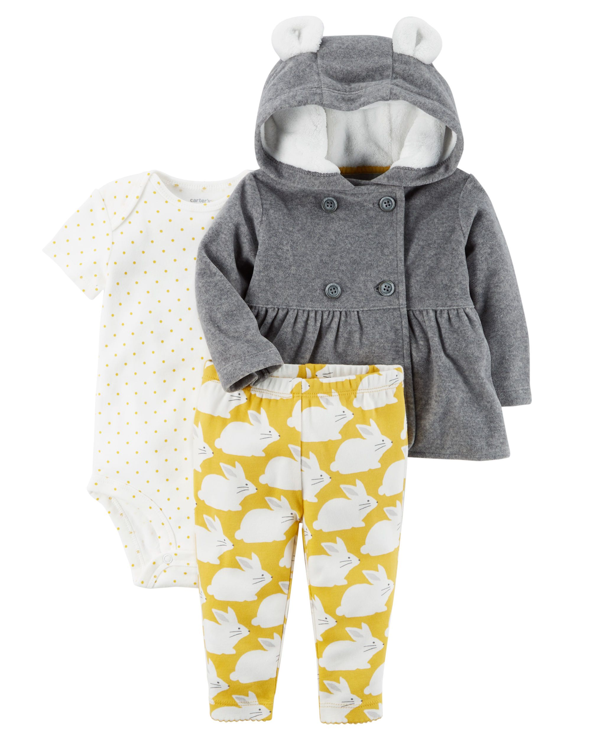 56a28c26e Baby Girl 3-Piece Little Jacket Set   Carters.com   Scarlet and ...