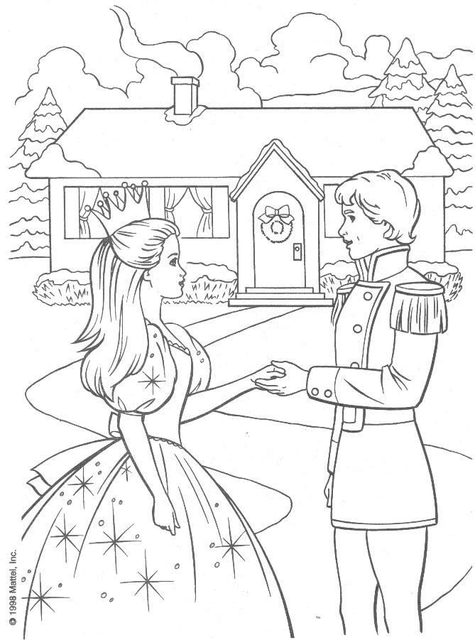 Barbie Coloring Book Pinterest Barbie coloring