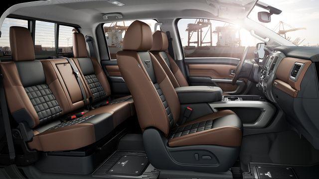 2017 Nissan Titan With Available Zero Gravity Front And Rear Seats Nissan Titan 2016 Nissan Titan Xd Nissan Titan Xd