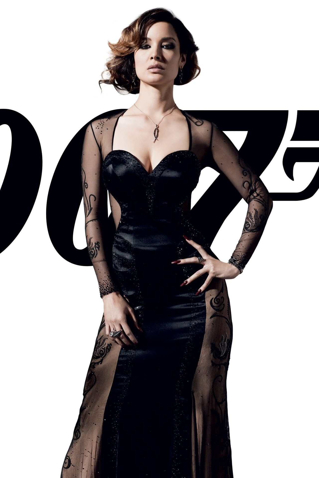 severine black dress james bond 007 skyfall movie in 2018 ball