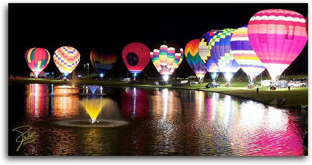 Hot Air Balloon Festival Places To Go Balloons Travel
