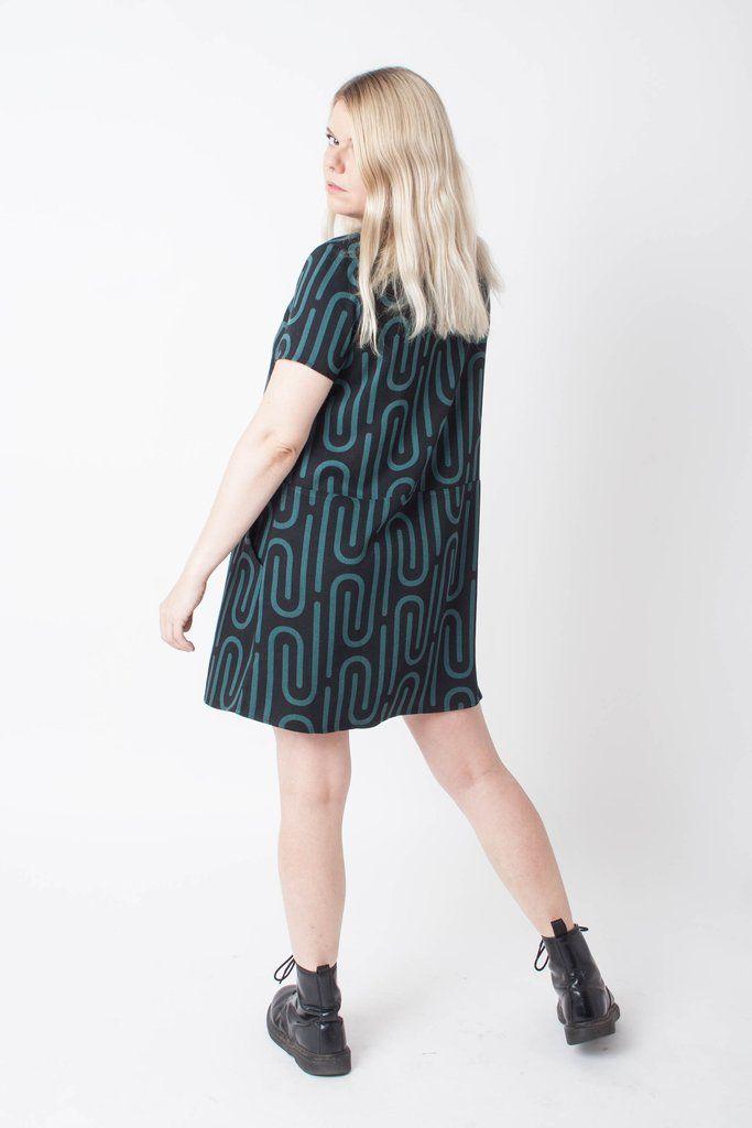 38aba07be9e Dusen Dusen Oversize Tee Dress - Clip pattern