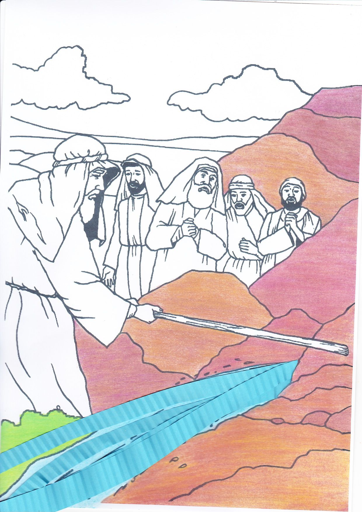 title met afbeeldingen kleurplaten kleuren