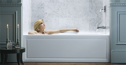 Kohler Archer Tub | Bathroom Showers/Bathtubs | Pinterest | Tubs ...