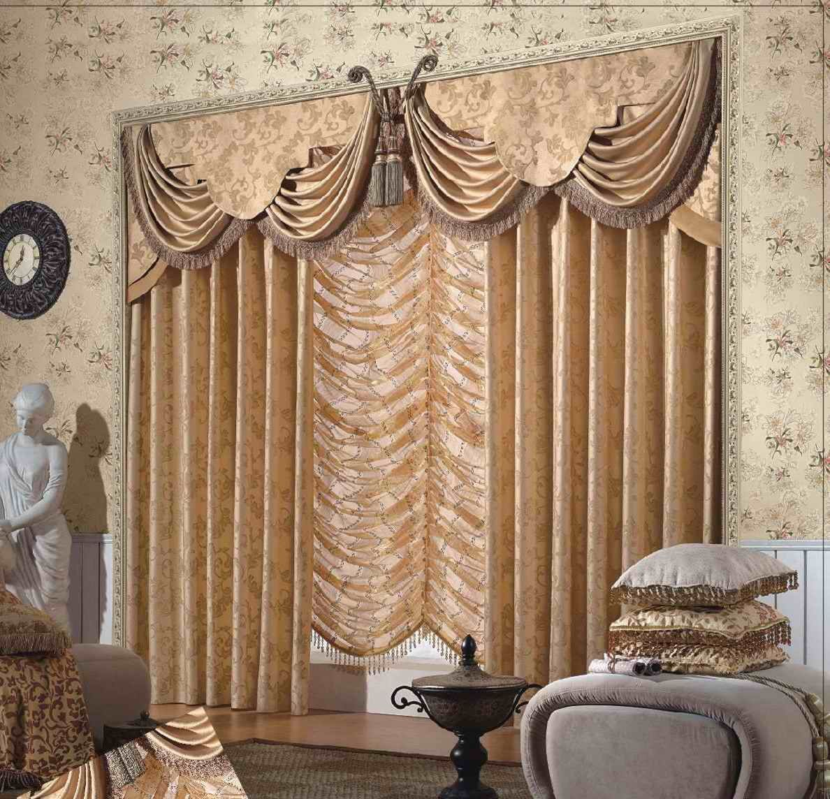 Arab Style Curtains European American Curtain Product On Alibaba