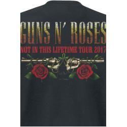 Photo of Guns N' Roses Logo and Bullet Herren-T-Shirt – schwarz – Offizielles Merchandise