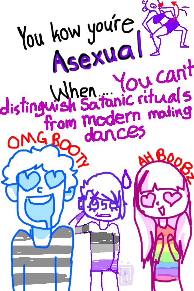 What does it mean if you re asexual