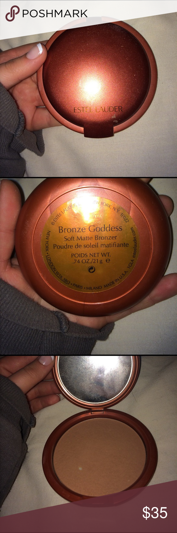 ESTĒE LAUDER bronze goddess bronzer Only used a few times , in Great condition. Will consider reasonable offers , size of product is very big shown in pictures Estee Lauder Makeup Bronzer