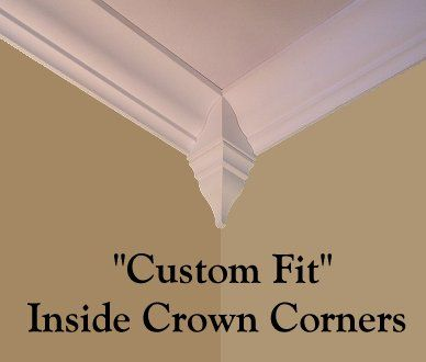 Lovely Crown Molding Corner Blocks Fresh - Popular crown molding measurements New