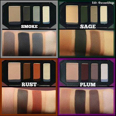 Kat Von D Shade + Light Color Contour Mini Eyeshadow Palettes (each quad retails…
