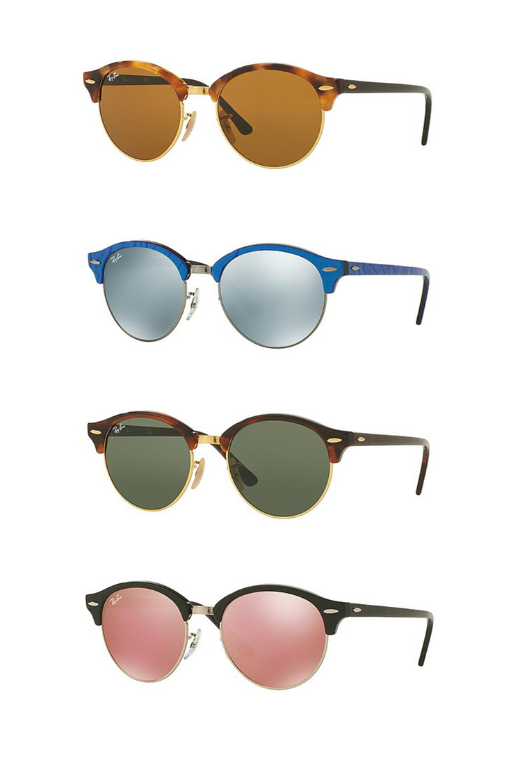 ff5b5aa1c2642 Can t decide Between Ray-Ban Clubmaster or Round  Sunglasses  Why don