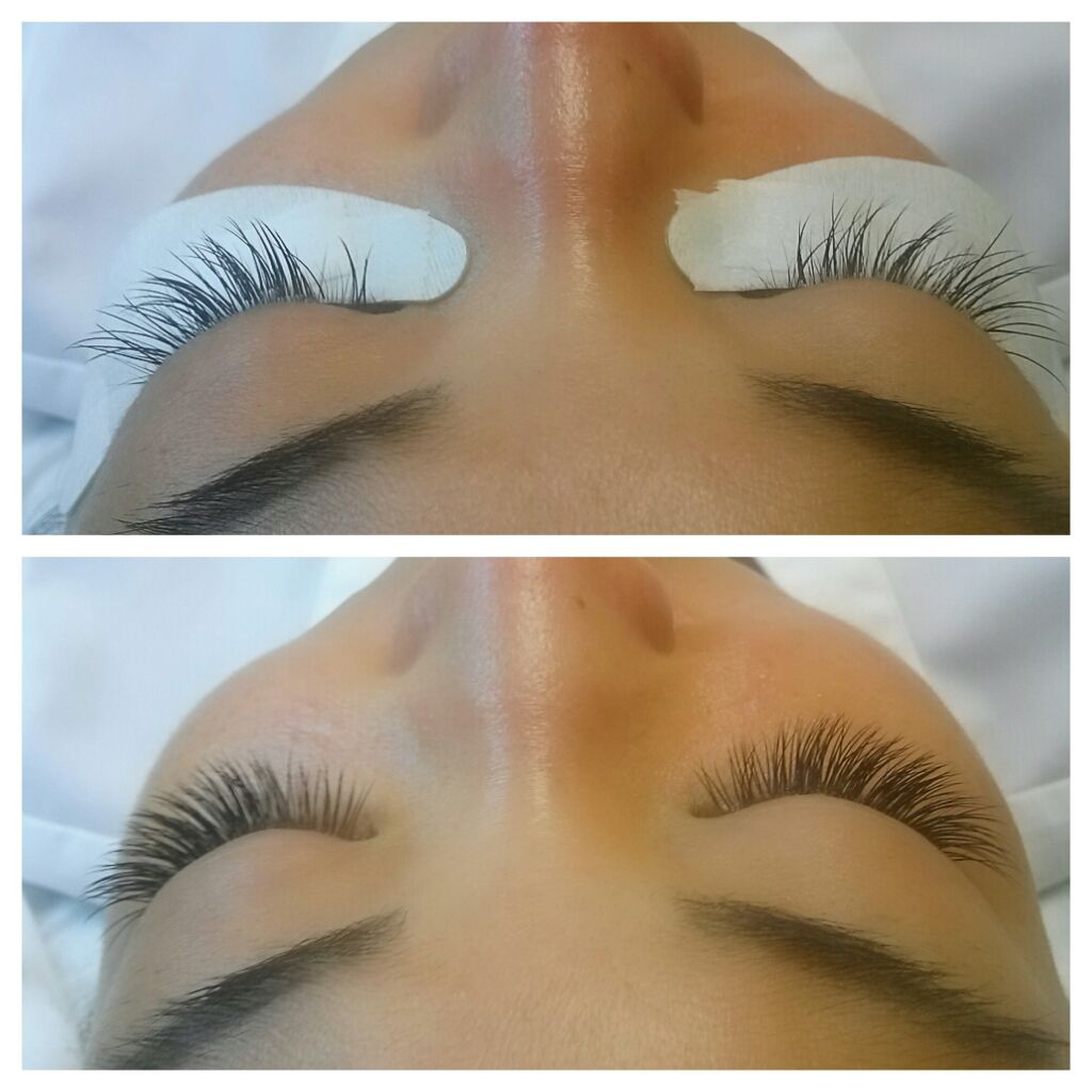 2dc3e1cd6fd Before & After used 8mm, 9mm, 10mm, 11mm, 12mm SY EYELASH EXTENSIONS ...
