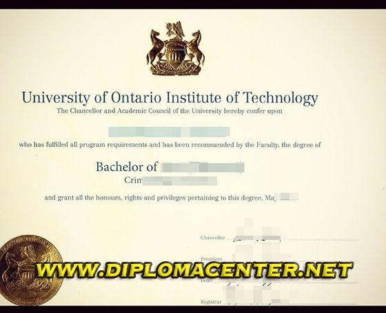 University of Ontario Institute of technology( UOIT), bachelor ...