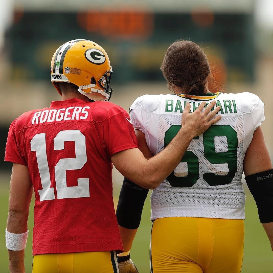 Quarterback Left Tackle Packerscamp Quarterback