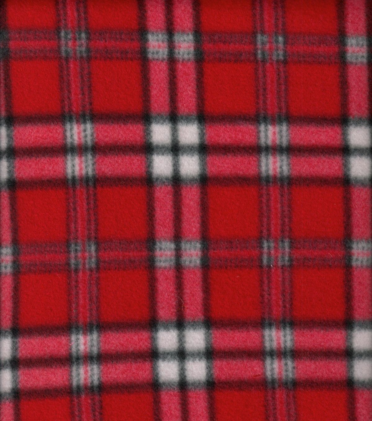 Blizzard Fleece Fabric Classica Red PlaidBlizzard Fleece Fabric ...