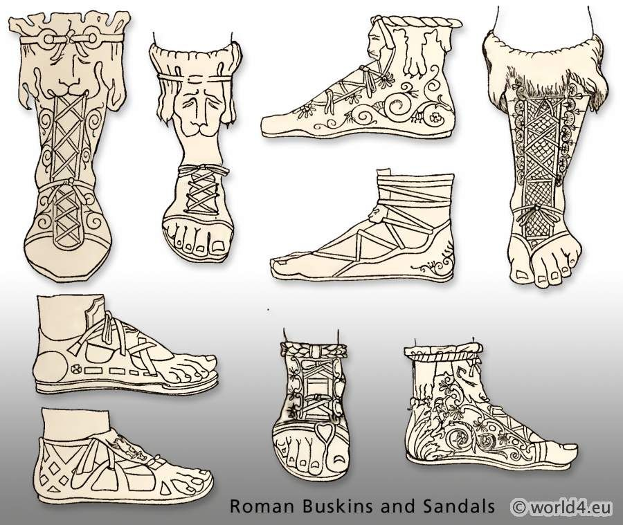 Ancient Roman Buskins and Sandals | Sam Vimes, Discworld ...