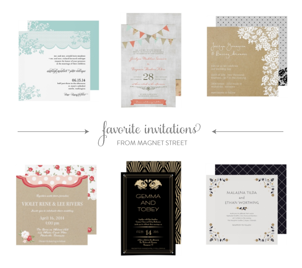 Do Your Own Wedding Invitations: Sponsored Post: Magnet Street Weddings 25% Off Sale