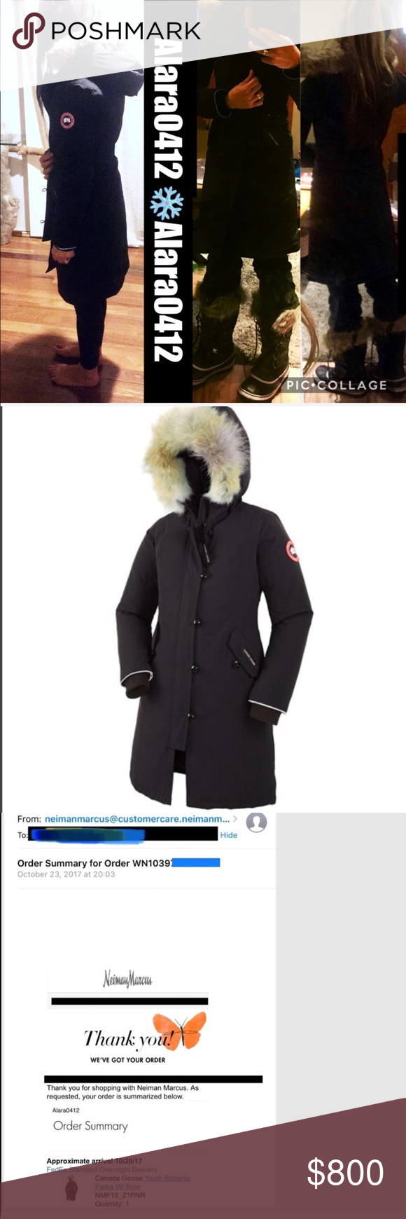 BRITANNIA PARKA CANADA GOOSE KIDS SIZE : L FIT XS SOLD OUT KIDS BRITANNIA PARKA FUR JACKET BLACK SIZE LARGE : KIDS , I PAID $800 FOR THIS FROM NM LAST MONTH ...